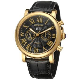 Forsining Men's Automatic Calendar Wrist Watch FSG9407M3G2 image