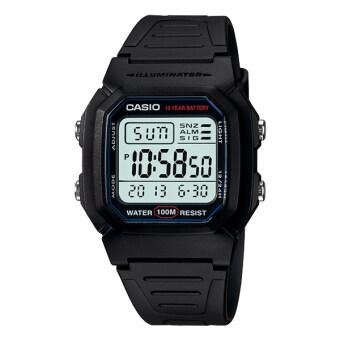 Casio Standard Digital นาฬิกาข้อมือ รุ่น W-800H-1AV - Black image