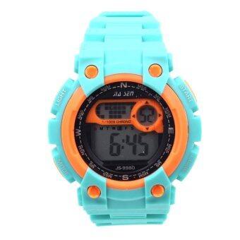 Sevenlight SPORT นาฬิกาข้อมือ Unisex ได้ทั้งชายและใส่หญิง - GP9208 (Green/ Orange) (image 0)
