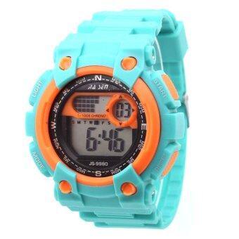 Sevenlight SPORT นาฬิกาข้อมือ Unisex ได้ทั้งชายและใส่หญิง - GP9208 (Green/ Orange) (image 1)
