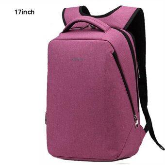 Tigernu Multifunctional Fashion Women Men17 Inches Laptop Backpack T-B3164(Rose Red)