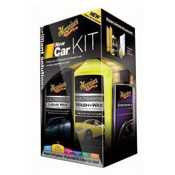 Meguiar's G3200 New Car Kit ชุดบำรุงรักษารถใหม่.