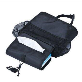 2CAR กระเป๋าเก็บอุณหภูมิ สำหรับแขวนหลังเบาะในรถ (สีดำ)