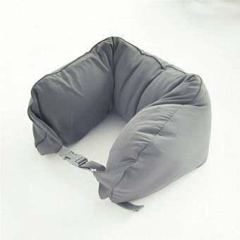 Mori Neck cushion microbead หมอนรองคอ หมอนอเนกประสงค์ Travel Pillow Neck cushion Multipurpose pillow รุ่น Neck cushion microbead (Grey / สีเทา)