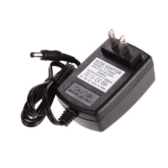 เอซี 100 - 240โวลต์อะแดปเตอร์แปลงเพศ 5.5 x 2.5มม. 12โวลต์ 2 amps 2000mA ปลั๊กชาร์จเรา (สีดำ)