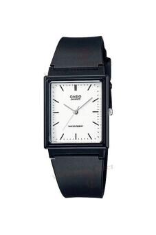 Casio Standard นาฬิกาข้อมือสุภาพบุรุษ สายเรซิ่น รุ่น MQ-27-7EDF - สีดำ image