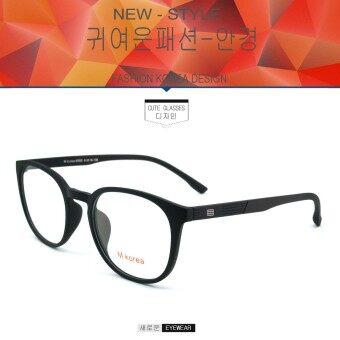 Fashion M Korea แว่นสายตา รุ่น 8550 สีดำ แว่นตากรองแสงสีฟ้า ถนอมสายตา (กรองแสงคอม กรองแสงมือถือ)