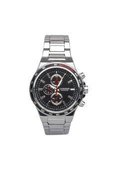 Curren นาฬิกาข้อมือ รุ่น MAME CU9-5 (Silver/Black/Red)