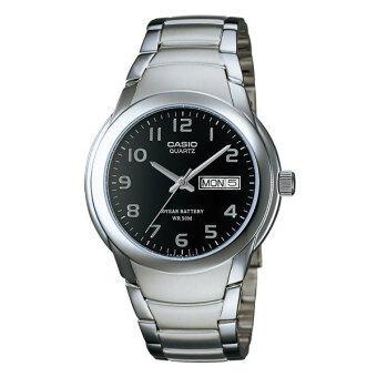 CASIO นาฬิกา Gent quartz รุ่น MTP-1229D-1AVDF - Black