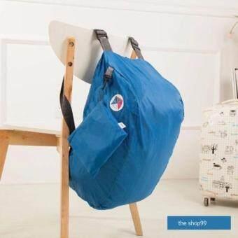 กระเป๋าเป้สะพายข้าง หรือ สะพายหลัง แบบพับได้ สะดวก เล็ก สำหรับเดินทางพา