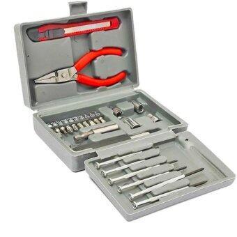 ประแจบ๊อกชุด 24 ตัวชุด Socket Wrench Set *1box