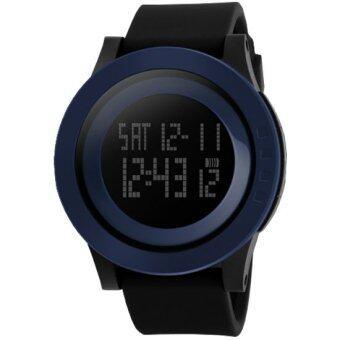 Skmei นาฬิกาข้อมือ กันน้ำ ผู้ชาย ดิจิตอล รุ่น 1142 สีน้ำเงิน LED Digital Water Resistant Sport Men Watch- Blue