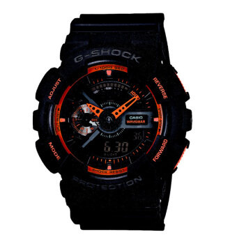 Casio G-Shock GA-110TS-1A4 สีดำ