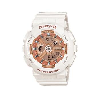 Casio Baby-G นาฬิกาข้อมือ รุ่น BA-110-7A1DR (White)