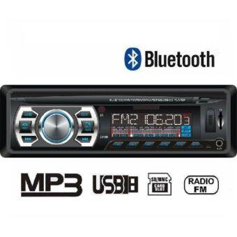 CAR 1DIN MP3 เครื่องเสียงติดรถยนต์ Bluetooth ในตัว Car Sterio FM Mp3 player USB/SD AUX In-Dash Radio เครื่องเสียงรถยนต์ วิทยุติดรถยนต์ 18BT รุ่นใหม่