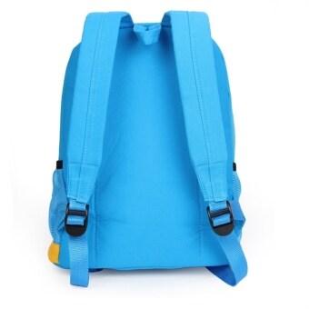 Hot Cute Cartoon Canvas Kids School Bag Backpack Boys and Girls Student Bag Brown U144 - intl (image 1)