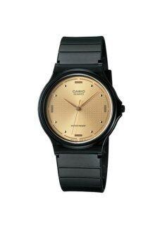 Casio Standard นาฬิกาข้อมือสุภาพบุรุษ สายเรซิ่น รุ่น MQ-76-9ALDF - สีดำ image