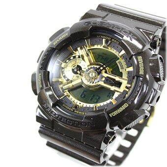Casio G-Shock Resin Band Watch - GA-110BR-5 Black (image 1)