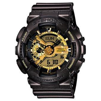 Casio G-Shock Resin Band Watch - GA-110BR-5 Black (image 0)