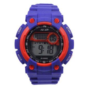 S SPORT นาฬิกาข้อมือ Unisex ได้ทั้งชายและใส่หญิง - GP9208 (Blue/ Red)
