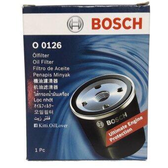 Bosch ไส้กรองน้ำมันเครื่อง (0126) Honda Brio, Accord 2.0, City, Civic 1.8/2.0, CRV, Jazz