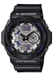 Casio G-Shock Men's Black Resin Strap Watch GA-150MF-8