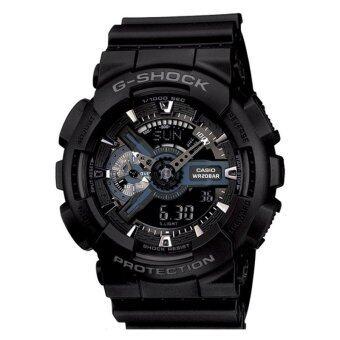 G-shock นาฬิกาผู้ชาย สายเรซิ่น รุ่น GA-110-1BDR