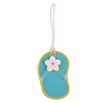 Slipper Travel Luggage Baggage Tags Name Bag Card Holder Suitcase Bag Labels