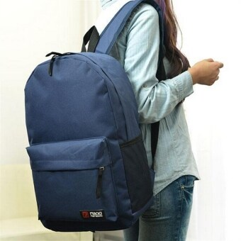 Dark Blue Unisex Travel Backpack School Bag Kids Adults Boy's Girl's Men's Women's Shoulders Book Bag U148