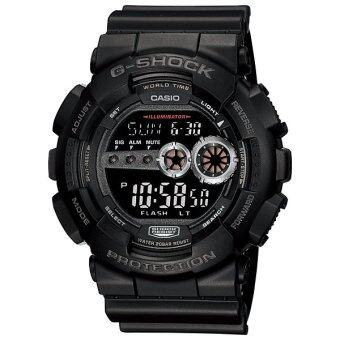 Casio G-Shock นาฬิกาข้อมือ รุ่น GD-100-1B - สีดำ