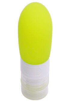 Hanyu 80ml Silicone Travel Portable Packing Cans Small Bottle Green