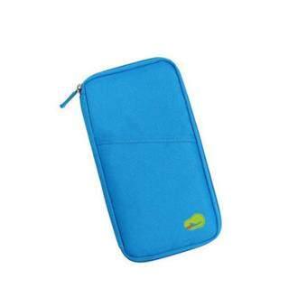 MTNshop กระเป๋าใส่พาสปอร์ตแบบยาว ที่จัดระเบียบกระเป๋า กระเป๋าอเนกประสงค์ กระเป๋าสตางค์ (MTN092-sky) (image 1)