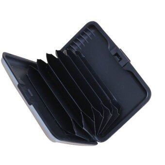 Business ID Name Credit Card Wallet Holder Aluminum Metal Case Box Waterpro