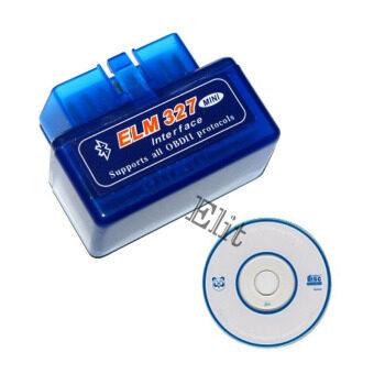 Elit Mini OBD II อุปกรณ์ตรวจเช็คสภาพรถยนต์ส่งข้อมูลไร้สายบลูทูธ รุ่น ELM327