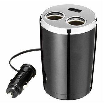 Napolex ช่องเสียบที่จุดบุหรี่ รุ่น FIZZ-848 2 Socket 1 USB