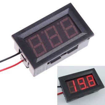 DC4.5-120V Voltmeter Digital Volt Meter Gauge Automobile Motorcycle Red (Intl)