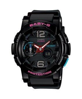 Casio baby-g นาฬิกาข้อมือ รุ่น BGA-180-1BDR