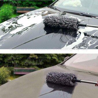 ALLY ชุดดูแลรถยนต์ ประกอบด้วย ไม้ปัดฝุ่น นาโน ไมโครไฟเบอร์ ขนาดกลมจัมโบ้(จำนวน 1ชิ้น)+ ผ้าชามัวร์ (คละสี)(จำนวน1ผืน) +ผ้าเช็ดรถ แบบหนา ขนาด40x40 cm(จำนวน 1ผืน) +ฟองน้ำล้างรถไมโครไฟเบอร์ (จำนวน 1ชิ้น) -แถมฟรี ดินน้ำมันล้างรถ จำนวน 1ชิ้น ราคา 250 บาท (image 2)