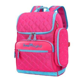 Children Girls Primary School Backpack Bookbag Kids School Bags & Rose
