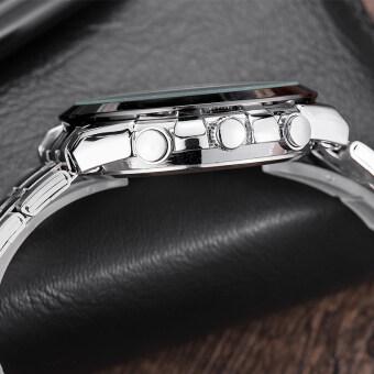 LONGBO 8650 ชายแฟชั่นรัดสเตนเลสธุรกิจนาฬิกาควอทซ์กีฬาสำหรับคน (image 3)