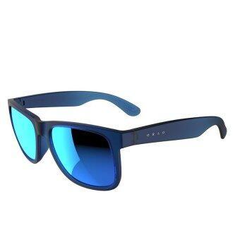 แว่นกันแดดไลฟ์สไตล์สำหรับผู้ใหญ่ สีฟ้ากระจก - (สีน้ำเงิน)