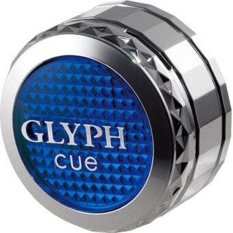 CARALL น้ำหอมเสียบช่องแอร์ CUE GLYPH กลิ่น Platinum Shower #1720 - 2.4g - Blue (2 ชิ้น)