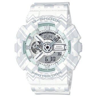 Casio G-shock นาฬิกาข้อมือชาย สายยางเรซิ้น รุ่น GA-110TP-7ADR Limited Edition image