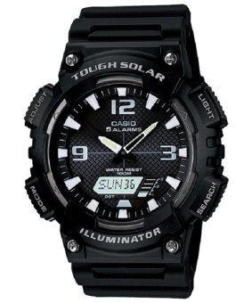 Casio นาฬิกาข้อมือ รุ่น AQ-S810W-1AV (สีดำ)