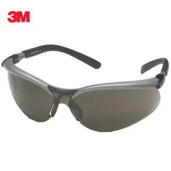 3M แว่นตานิรภัยรุ่น BX™ Series ขาแว่นปรับองศาได้ เลนส์โพลีคาร์โบเนต กันฝ้า กันกระแทก (สีดำ)