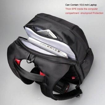 Kingsons KS3140W 15.6 Inch City Elite Bag Designer Laptop Backpack Water-Resistant Anti-Theft Laptop Rucksack with USB Charging Port Black - intl (image 4)