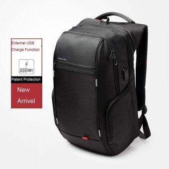 Kingsons KS3140W 15.6 Inch City Elite Bag Designer Laptop Backpack Water-Resistant Anti-Theft Laptop Rucksack with USB Charging Port Black - intl (image 2)