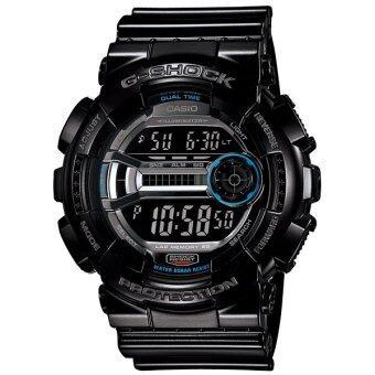 Casio นาฬิกาข้อมือ G-shock - รุ่น GD-110-1 สีดำ