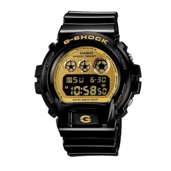 Casio G-Shock นาฬิกาข้อมือ รุ่น DW-6900CB-1DS (Black/Gold) image