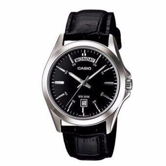 Casio Watch - รุ่น MTP-1370L-1AV สีดำ image